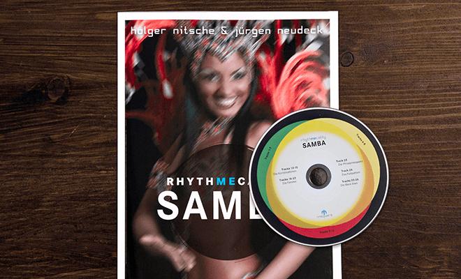 Rhythmecality Samba Cover und CD beitragsbild